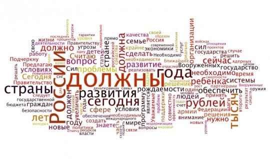 Послание президента Путина Федеральному собранию 2006