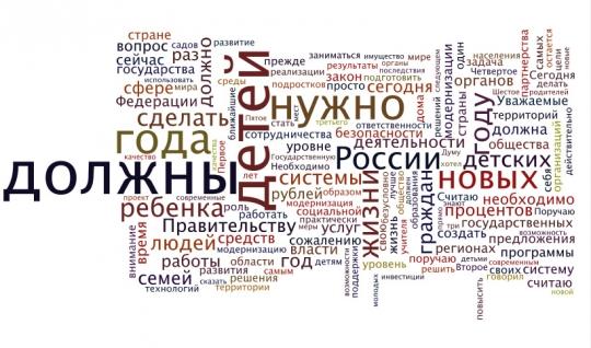 Послание президента Медведева Федеральному собранию 2010