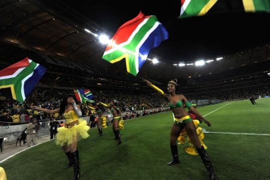 Южноафриканцы на чемпионате мира