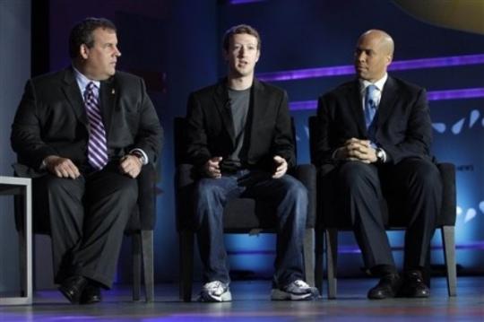 Марк Цукерберг в неформальной одежде